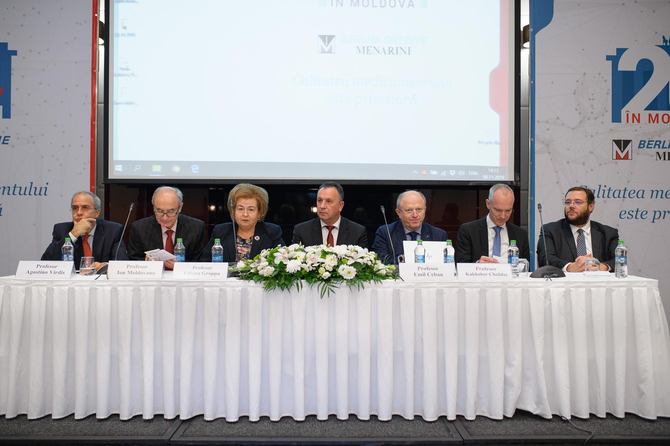 Berlin-Chemie/Menarini - 20 лет деятельности в Молдове