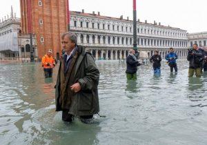 Венеция переживает самое сильное наводнение за последние 50 лет