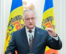 «Молдова уже будет другой». Додон описал несколько сценариев рецессииэкономики Молдовы