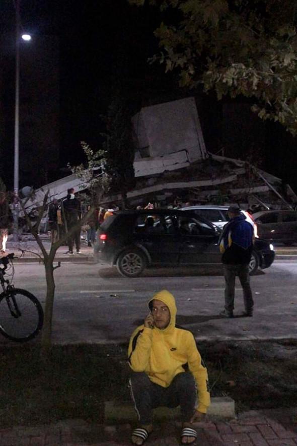 ВАлбании произошло землетрясение магнитудой 6,4. Есть погибшие
