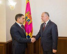 Додон подписал указ о назначении Стояногло генпрокурором