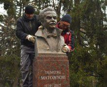 В Кишиневе открыли памятник Думитру Матковскому