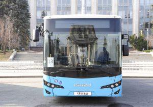 Мэрия Кишинева возьмет вкредит 261 млн леев напокупку 100 автобусов ISUZU
