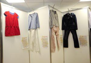 Одежда ни при чем. Как в парламенте открылась выставка одежды жертв изнасилований
