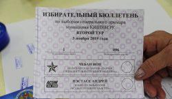 выборы, бюллетень