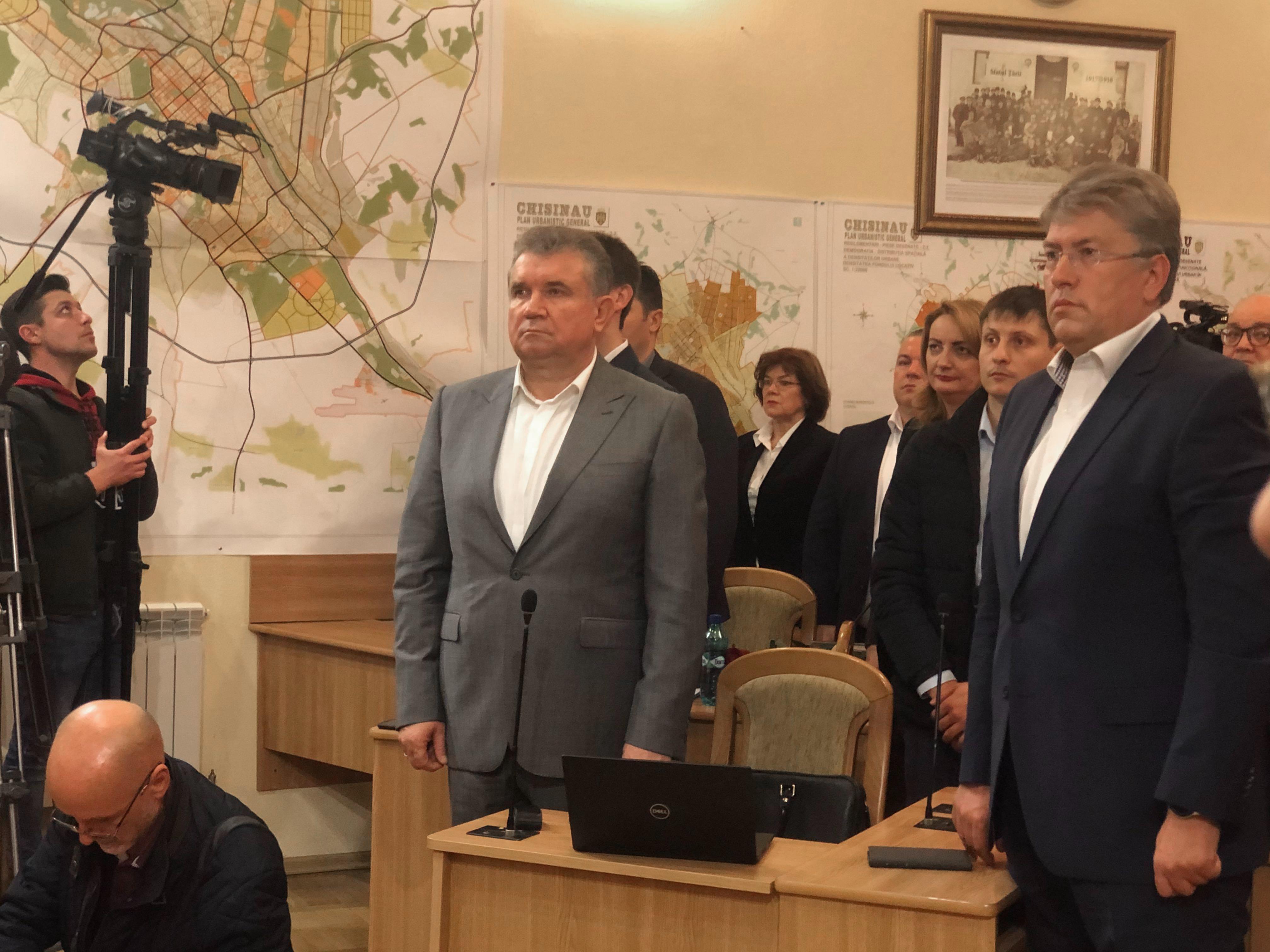 Вмэрии Кишинева утверждают новый состав мунсовета. Онлайн-трансляция