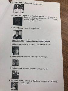 """""""Sute de oameni au fost interceptați."""" Chiril Moțpan a prezentant o parte a listei"""