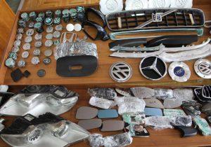 Полиция задержала двух подозреваемых в краже автомобильных зеркал на Рышкановке