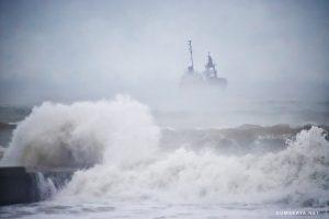 Operațiune de salvare în largul Mării Negre. O navă sub pavilionul Moldovei, în pericol să se scufunde