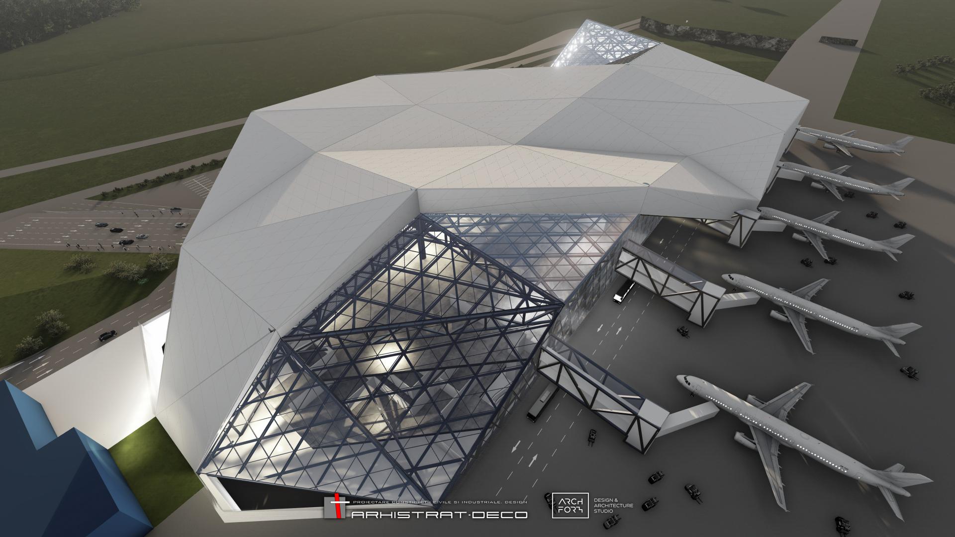 AVIA INVEST începe construcția celui mai mare terminal de pasageri din regiune