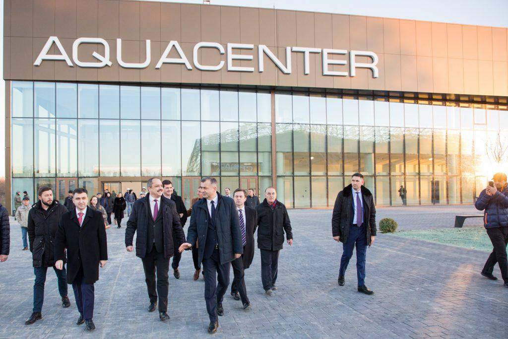Кику понравилась Chișinău Arena. Что еще сказал премьер после посещения строящегося спорткомплекса
