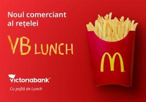 McDonald's – partenerul proiectului VB Lunch