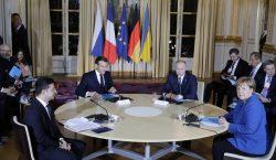 ВПариже проходят переговоры Путина, Зеленского, Меркель иМакрона