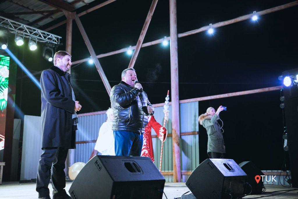 Шор пообещал вернуться. Как беглый депутат выступил на открытии новогодней елки в Тараклии