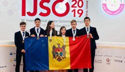 Молдавские школьники получили 6 золотых медалей на Международной научной олимпиаде…