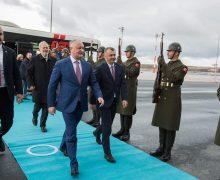 Dodon, Chicu și Vlah efectuează o vizită oficială în Turcia. Ce prevede agenda de lucru