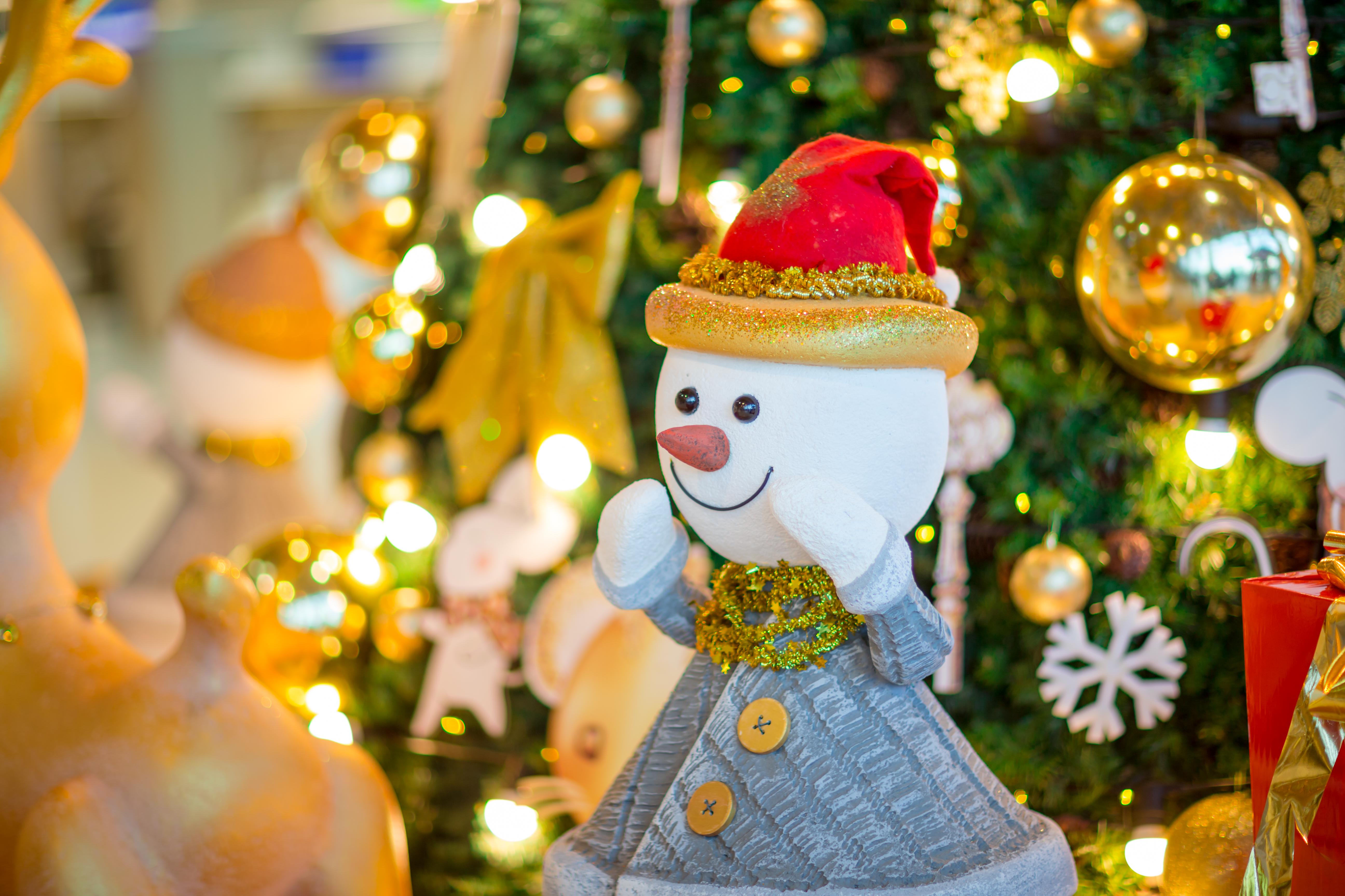 Decor de basm la Aeroportul Internațional Chișinău cu ocazia sărbătorilor de iarnă