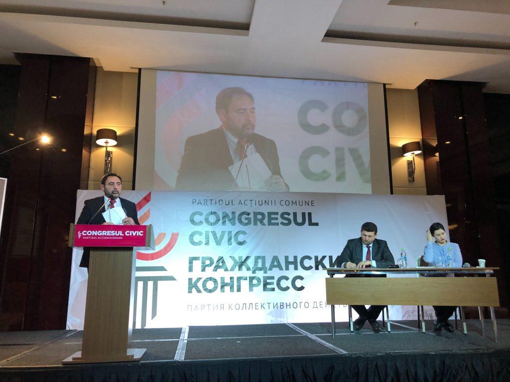 «Лишим действующие партии одиночества исмертной тоски». Как вКишиневе учреждали «Гражданский конгресс»