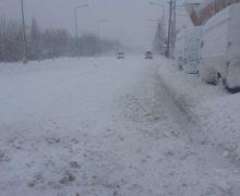 ALERTĂ! Cod Portocaliu de ninsori puternice și ghețuș în Moldova