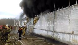 В Рыбнице возник пожар на фабрике нетканых материалов