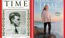 Журнал Time назвал 16-летнюю экоактивистку Грету Тунберг человеком года