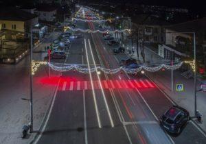 Оргеев — единственный в Молдове город с пешеходными переходами, подсвеченными красным светом