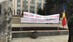 В Кишиневе прошел протест военных ветеранов