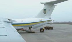 ВКиев доставили тела погибших вавиакатастрофе вТегеране