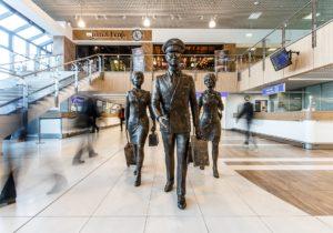 После концессии Кишиневского международного аэропорта годовой поток пассажиров за шесть лет удвоился