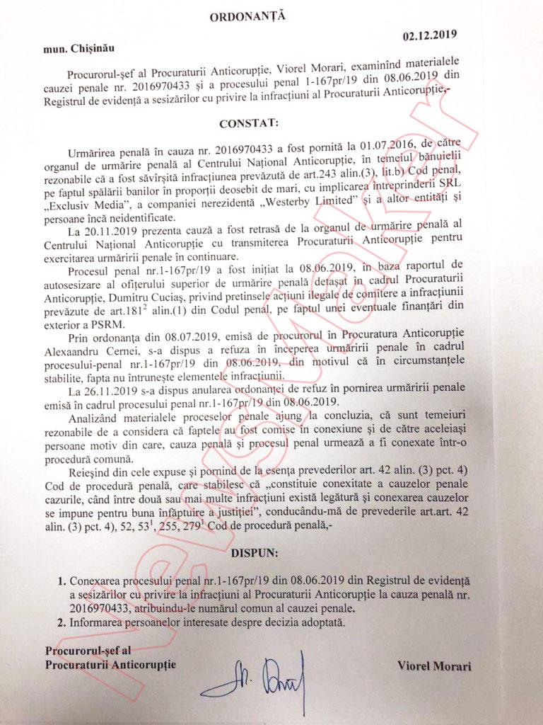 Дело Виорела Мораря: заказ или закон?  Эксклюзивные документы и разбор NM