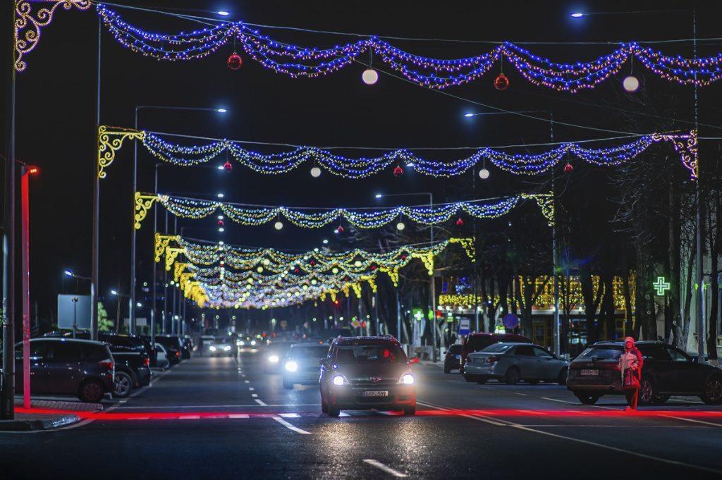 Orhei, singurul oraș din Moldova unde trecerile pentru pietoni sunt iluminate cu reflectoare roșii intermitente