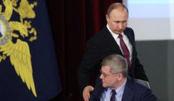 Путин предложил Чайке стать его полномочным представителем наСеверном Кавказе