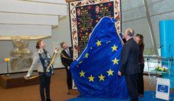 Додон подарил Совету Европы ковер