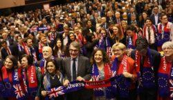 Европейский парламент одобрил Brexit. Великобритания покинет ЕС31января