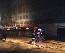 На заводе Mezon снова произошел пожар