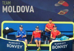 На теннисном кубке ATP перепутали гимн Молдовы с гимном Румынии. Как отреагировали в молдавской сборной