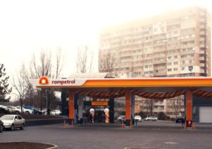 Stație de carburanți modernizată, inaugurată la Chișinău de Rompetrol Moldova
