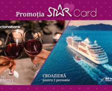 Câștigă o cină sau pleacă în croazieră cu STAR Card de la Victoriabank