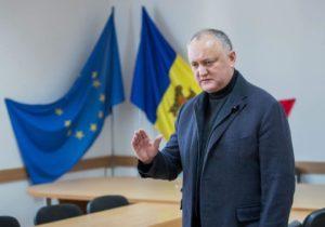 Додон предложил конфисковывать квартиры и машины судей, из-за которых Молдова проиграла в ЕСПЧ