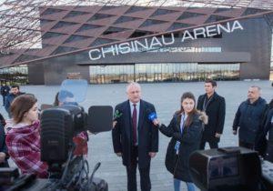 Додон назвал возможную дату открытия Chișinău Arena