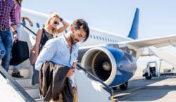 самолет, путешествия, рейс