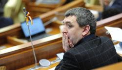 carp în parlament