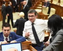 Парламент Молдовы избрал руководство. Воронин и Додон в него не вошли
