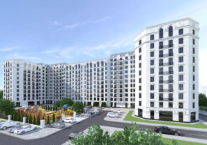 Начало продаж вNEWTON HOUSE 2— 600€ / м2