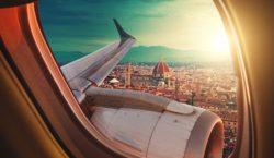 путешествие, самолет