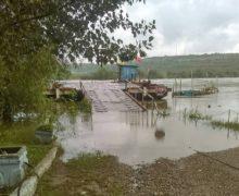 ВМолдове из-за сильного ветра временно неработают три КПП паромного типа