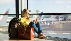 путешествия, аэропорт, самолет