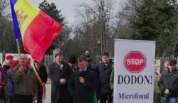 ВКишиневе прошел новый протест «Стоп Додон». Участники требуют отставки президента…