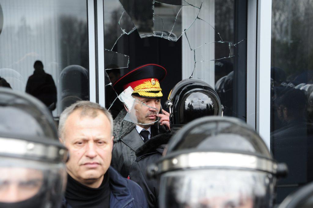 Как вКишиневе протестовали ветераны войны наДнестре. ФоторепортажNM
