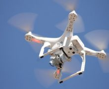 Вильнюс задействовал дроны для контроля засоблюдением карантина